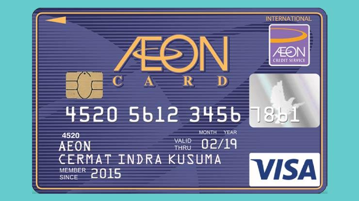 Kartu Kredit Aeon Credit Service