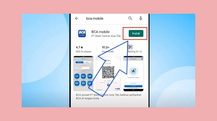 1 Pertama Download Aplikasi Bca Mobile Melalui Google Playstore Atau App Store