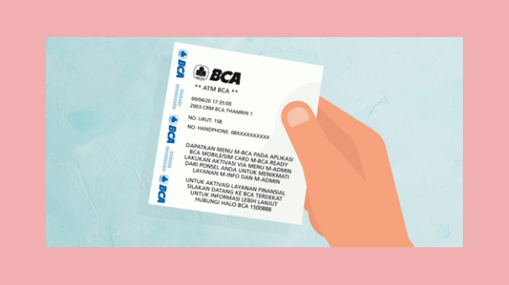 11 Tunggulah Hingga Mesin Atm Mencetak Bukti Registrasi