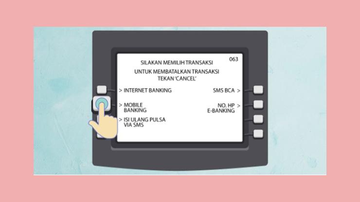 5 Lalu Pilih Mobile Banking