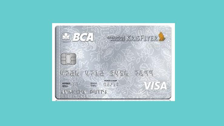 Bca Singapore Airlines Krisflyer Visa Signature