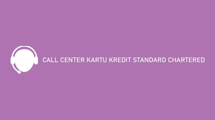Call Center Kartu Kredit Standard Chartered