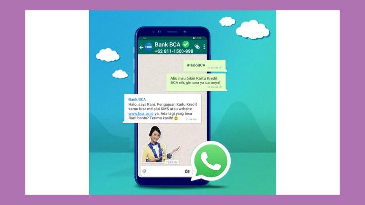 Cara Mengakses WhatsApp BCA