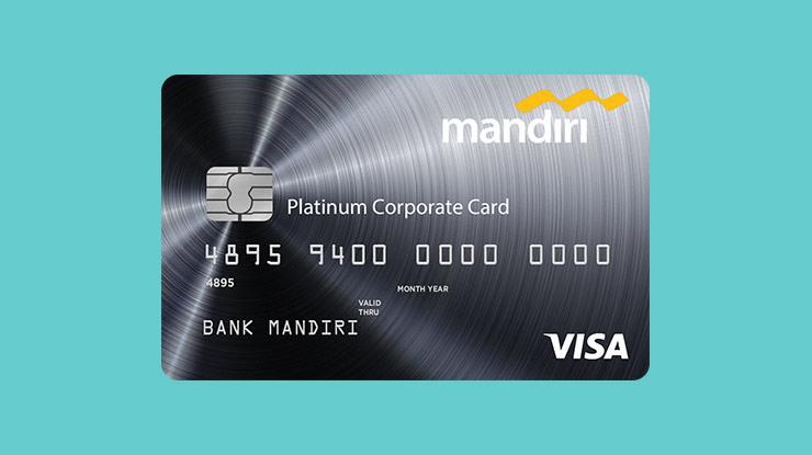 Jenis Kartu Kredit Mandiri Corporate Card