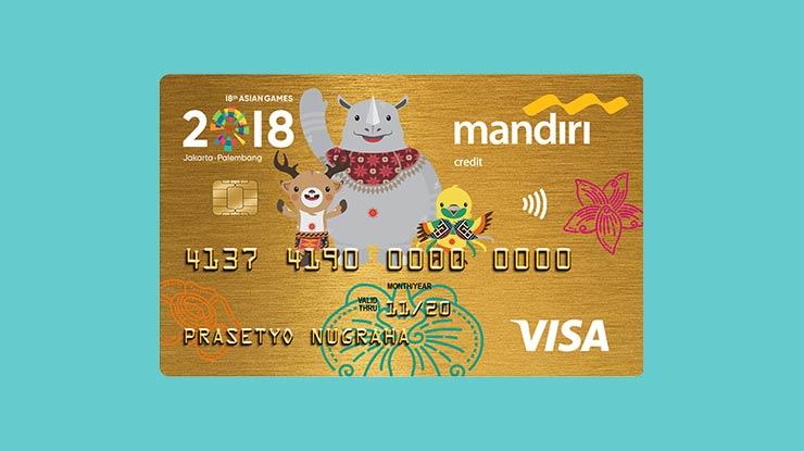 Jenis Kartu Kredit Mandiri Gold