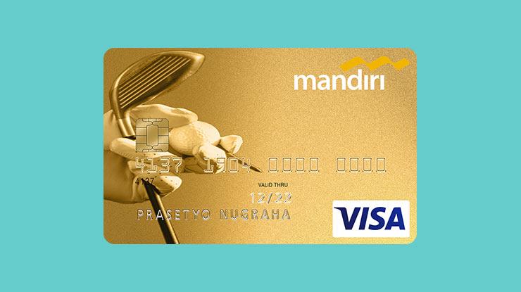 Jenis Kartu Kredit Mandiri Golf Gold