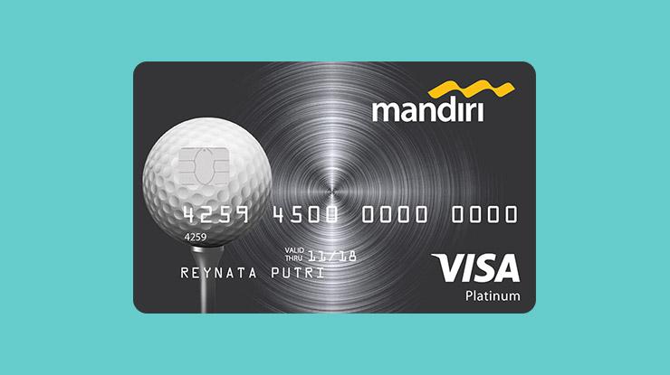 Jenis Kartu Kredit Mandiri Golf Platinum
