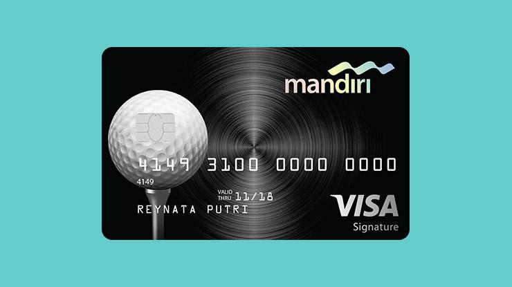 Jenis Kartu Kredit Mandiri Golf Signature