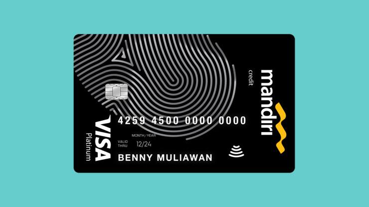 Jenis Kartu Kredit Mandiri Platinum