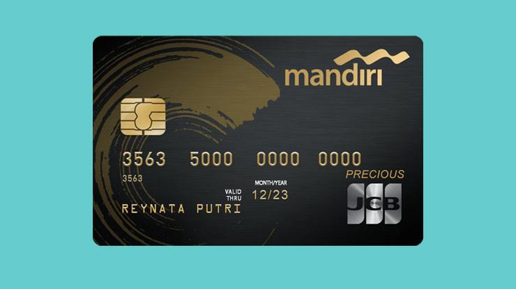 Jenis Kartu Kredit Mandiri Precious