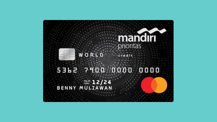 Jenis Kartu Kredit Mandiri Prioritas