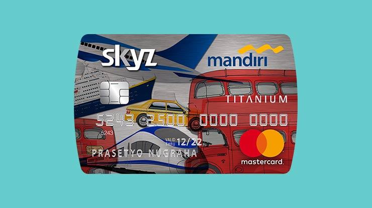 Jenis Kartu Kredit Mandiri Skyz
