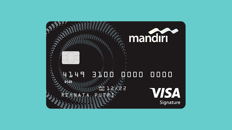 Jenis Kartu Kredit Mandiri Signature