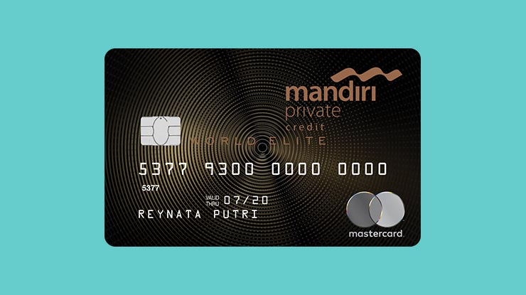 Jenis Kartu Kredit Mandiri World Elite