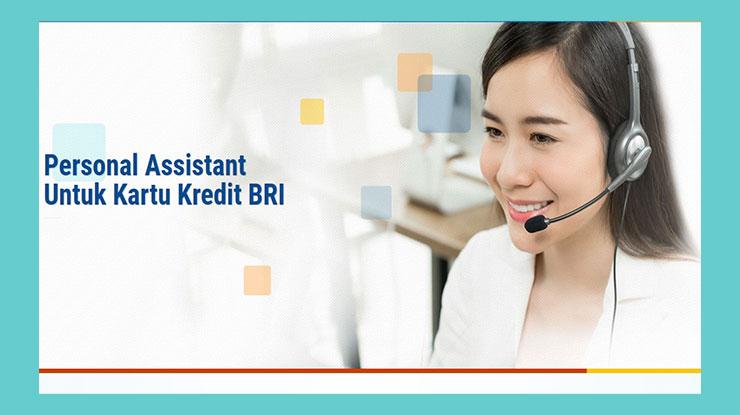 Membuat Kartu Kredit Bri Melalui Personal Assistant