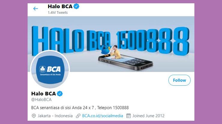 Twitter Call Center BCA
