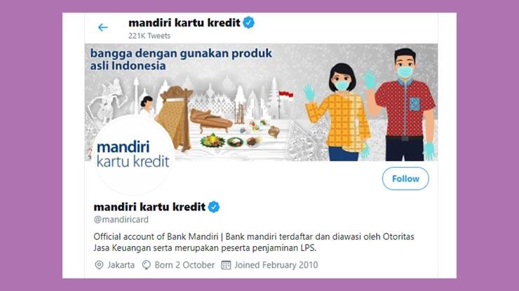 Twitter Mandiricard