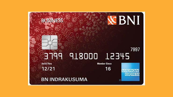 American Express Card Bni