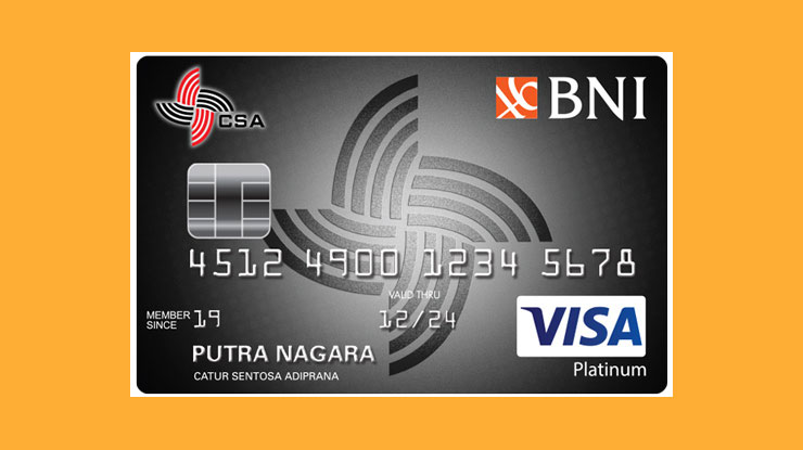 Bank Negara Indonesia Csa Card