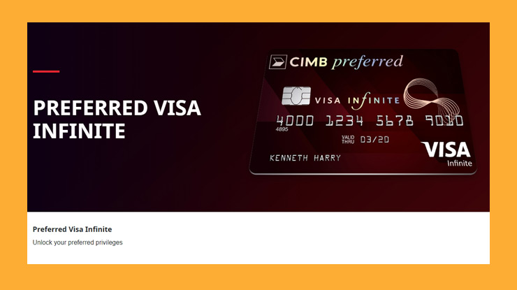 Cimb Niaga Preferred Visa Infinite