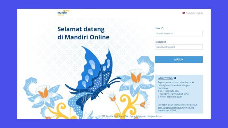 Cara Bayar Kartu Kredit Mandiri Lewat Internet Banking