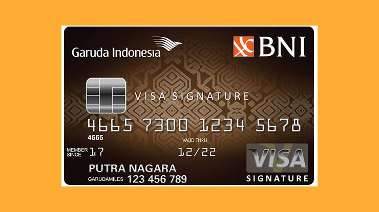 Garuda Card Bank Nasional Indonesia