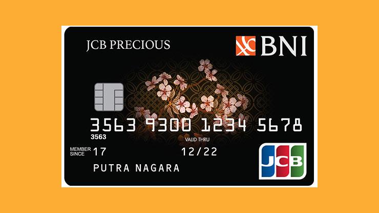 Jenis Kartu Kredit Bni Jcb Precious