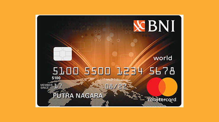 Jenis Kartu Kredit BNI Mastercard World