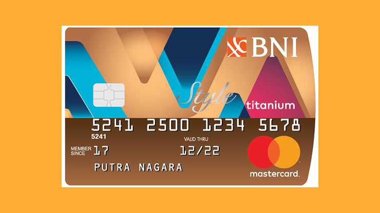 Jenis Kartu Kredit BNI Style Titanium