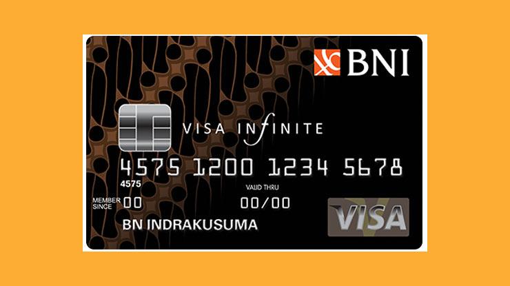Jenis Kartu Kredit Bni Visa Infinite