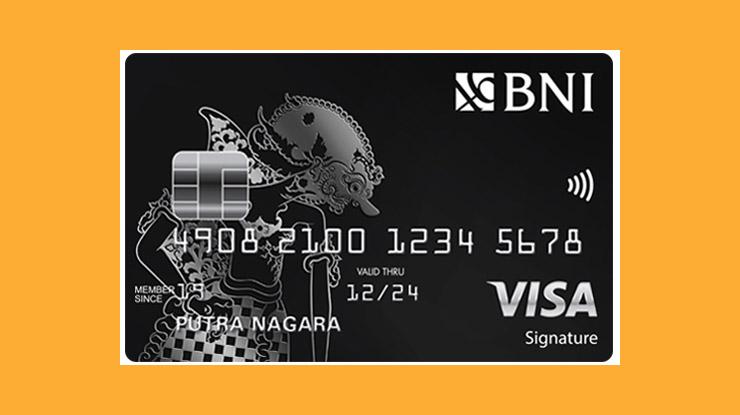 Jenis Kartu Kredit BNI Visa Signature