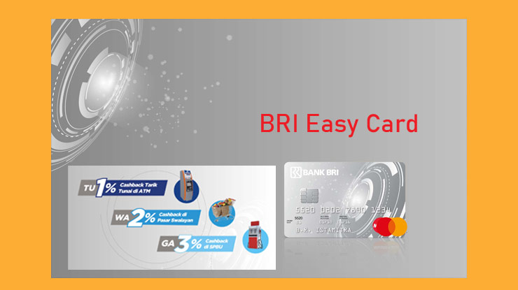 Jenis Kartu Kredit Bri Easy Mastercard