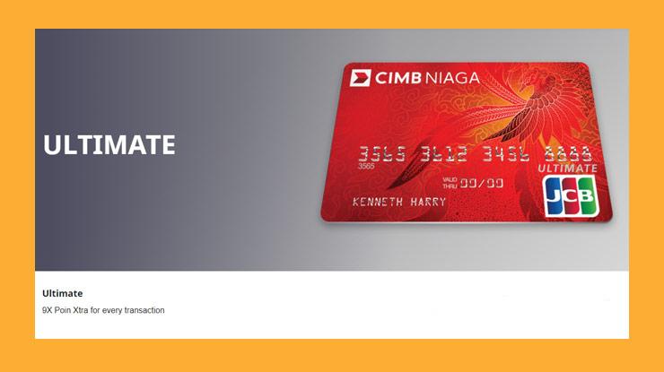 14 Jenis Kartu Kredit Cimb Niaga Bonus Fitur Manfaat 2020