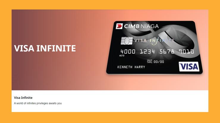 Jenis Kartu Kredit Cimb Niaga Visa Infinite