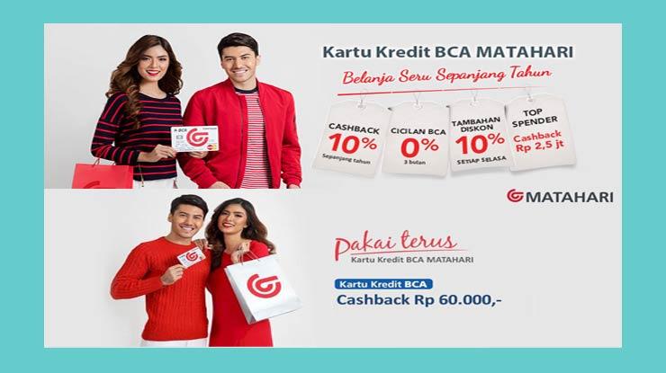 Privilege Kartu Kredit BCA Mastercard Matahari