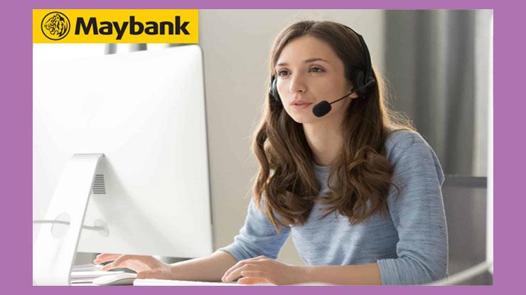 Telepon Call Center Maybank