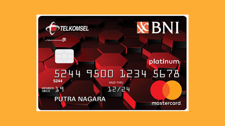 Telkomsel Card Bank Negara Indonesia