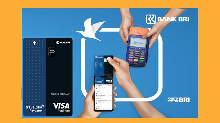 Traveloka Paylater Card Blue