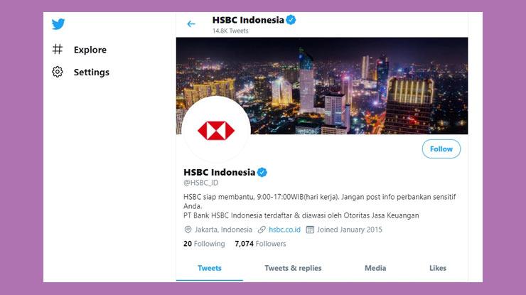Twitter HSBC