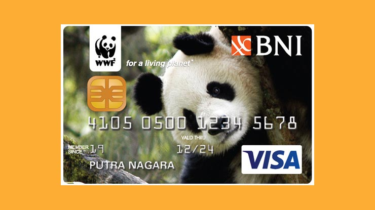 Wwf Card Bank Negara Indonesia