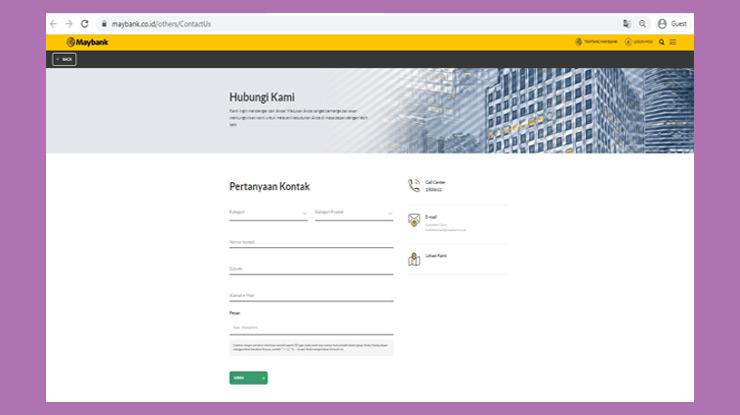 Website Maybank