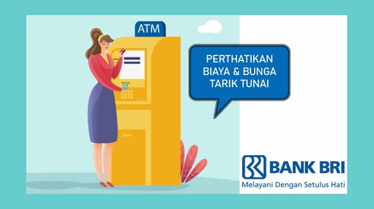 Biaya dan Bunga Tarik Tunai Kartu Kredit BRI