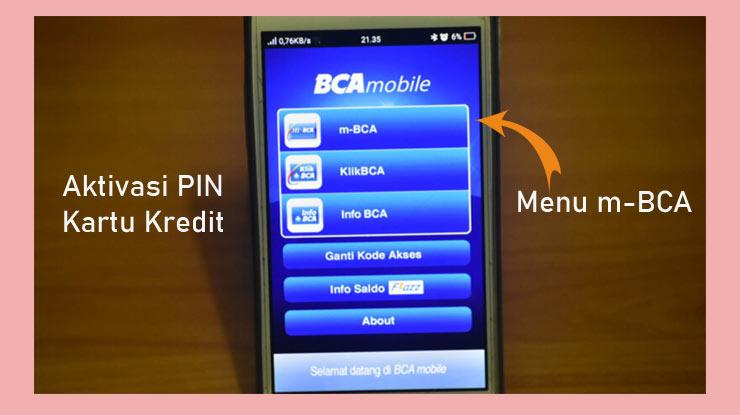 Cara Aktivasi Pin Melalui Aplikasi Mobile Bank Central Asia
