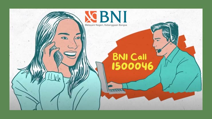 Cara Buat PIN Melalui Layanan Call Center BNI 1500046
