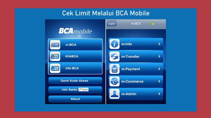 Cara Cek Limit Bca Mobile App