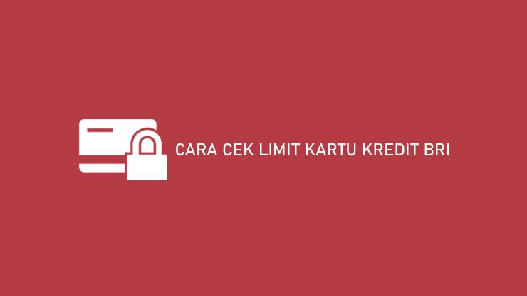 15 Cara Cek Limit Kartu Kredit Bri Atm Sms Layanan Online 2021