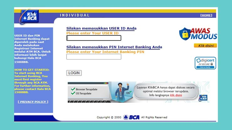 Cara Cek Tagihan Kartu Kredit Bca Lewat Klikbca