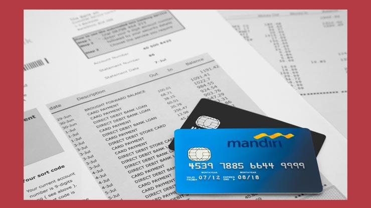 Cek Limit Kartu Kredit Mandiri pada Lembar Tagihan