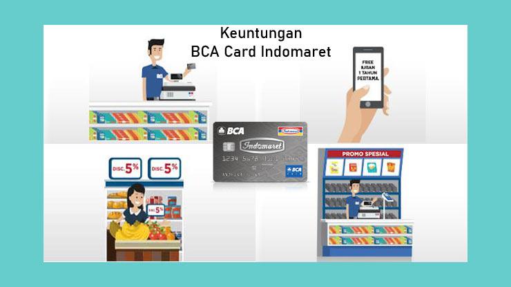 Keuntungan Kartu Kredit BCA Card Indomaret