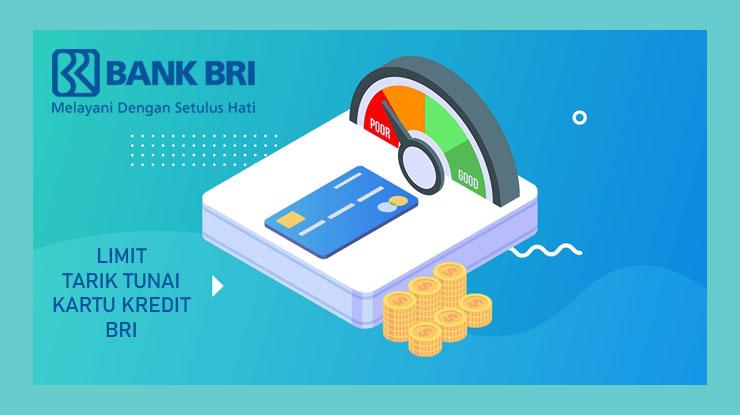 Limit Tarik Tunai Kartu Kredit BRI